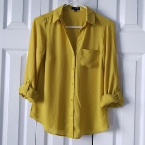 Button down Ashton blouse from The Limited